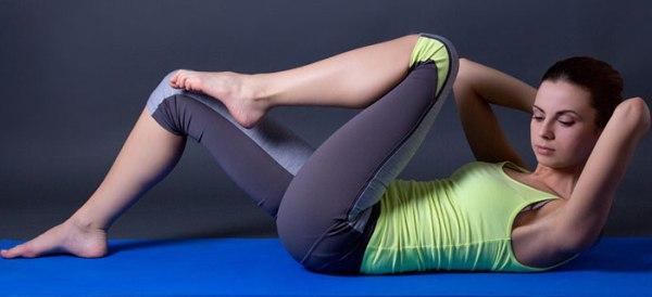 Подтянуть кожу на животе после похудения упражнения