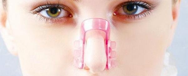 Безоперационная ринопластика широкого носа