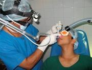 Методика исправления носовой перегородки лазером