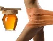 Проведение медового масажа от целлюлита в домашних условиях