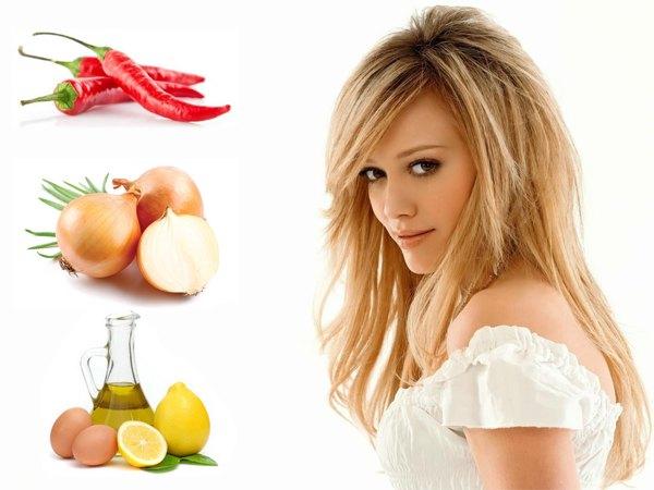 Народные рецепты от выпадения волос у женщин
