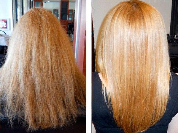 Ботокс для волос фото до и после проведения