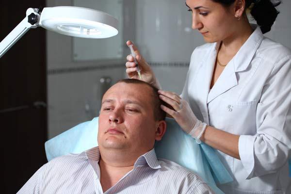 Лечение облысения у мужчин народными средствами