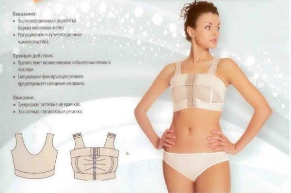 Сколько носить компрессионное белье после маммопластики